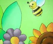 ape e fiori
