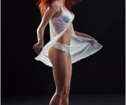lingerie white,