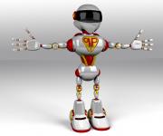 OMPpumps robot advertising