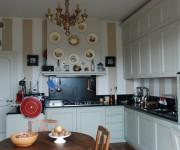 Cucina artigianale costruita dalla Bottega del Falegname