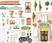 carta decoupage per decorare coppo