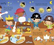 USBORNE - Pirate wipe Clean - PIRATE PARTY - Dania Florino