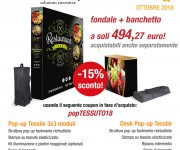 Promo Ottobre - Pop Up Tessile