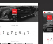 melographic studio - sito web  saccon gomme spa