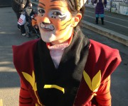 Master Tigress(facepanting and costume)