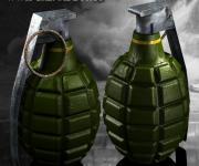 WWII Grenade Prop
