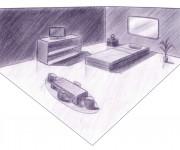 sketch - camera letto 1