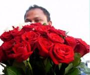 Venditore di fiori.