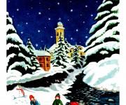 Bambini - giochi di neve