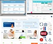 UI/UX Design webapp - mobile - ipad