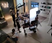 Riprese video per spot pubblicitario nello studio Color