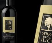 serra degli ilici - etichetta vino
