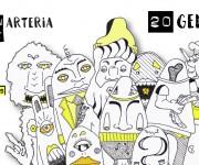 Facebook Cover - Planctoon night @ Arteria, Bologna