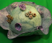 Centrotavola paper flowers ideas eco wedding
