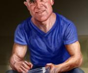Bald man caricature_02_rez