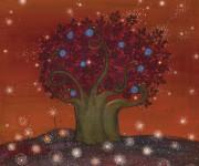 albero serpentario dai pomi blu
