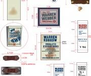 etichette warren webber