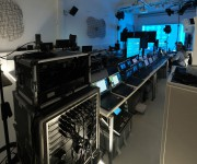 Regia tecnica per game show aziendale in diretta streaming nello spazio Light