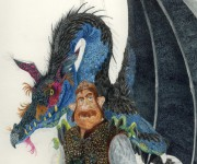 Tolkien - The hunter dragons.