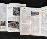 guida archeologica della città di Segni: impaginazione e grafica