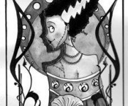 La sposa di Frankenstein.