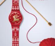 Swatch Christmas knitting_xmas2013