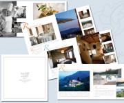 brochure di presentazione ristorante albergo