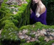 Zora Immagine modella nudo artistico in natura