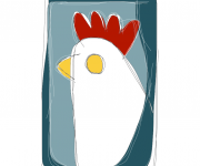 gallina bianca - ideAZIONIvettoriali