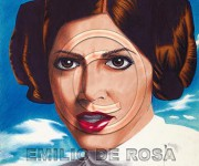 Princess Leia Organa-Carrie Fisher. Star Wars Ep. IV