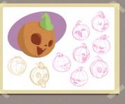 Zucca character design