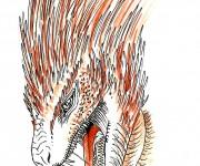 Red il dragone del fuoco ritratto