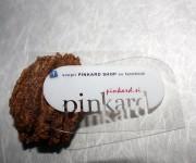 biglietti da visita in PVC trasparente bilucido - clear plastic business cards
