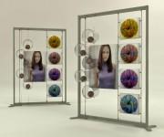 Espositore autoportante per punti vendita e spazi commerciali - InUno
