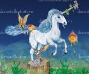 foresta unicorno