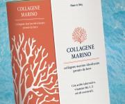Packaging ed etichetta per Collagene Marino liquido