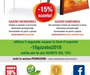 Promo Gazebo Aprile 2018