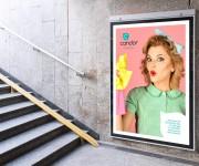 Candor-Affissione-metro-Creativamente-Agenzia-di-Comunicazione-Brescia