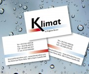 Klimat Service - Business card
