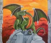 Draco sunset