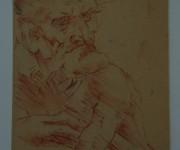 BUSTO DI VECCHIO DAL VOLTO CARICATURALE. Leonardo da Vinci