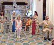 Spettacolo dei Tableau Vivant - eventi Aldilà della seta - Maggio dei Monumenti 2017