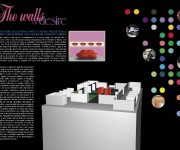 Pieghevole mostra The walls of desire - Bologna Fiere