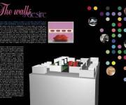 Pieghevole mostra The walls of desire - Bologna Fiere