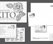 AGENZIA SERVIZI KITO, ROMA: marchio ed immagine coordinata