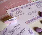 Marco & Debora - Partecipazioni nozze e cartoncino confetti
