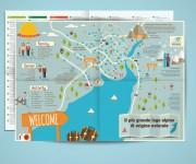 Mappa Infografica per lago di Molveno (TN)