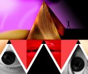 woman pyramid