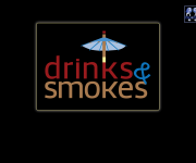 drinks & smokes