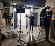 Photo shooting settore fashion nello studio Lounge